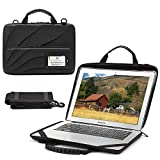 BUG Laptop Bag Compatible with 11-13.3 inch MacBook Pro, MacBook Air, Chromebook, Notebook Computer, Hard Shell Laptop Briefcase Sleeve Case for Men Women with Shoulder Strap