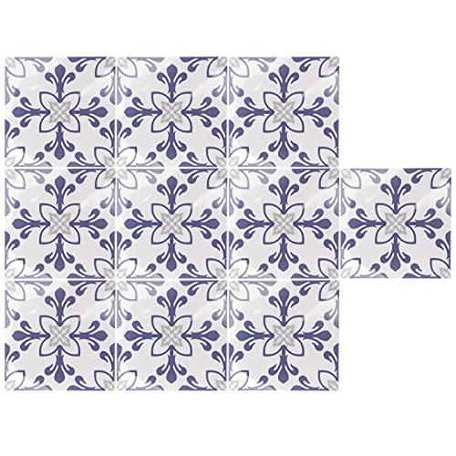 10 Uds, Adhesivo para azulejos, impermeable, antideslizante, autoadhesivo, adhesivo para suelo de pared para cocina, lavabo, baño, hogar
