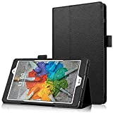 Asng G Pad X 8.0 / G Pad III 8.0 Case - Slim Folding Stand Cover Smart Case for G Pad X 8.0 (V521) / AT&T (V520) / G Pad III 8.0 (V525) 8-Inch Tablet (Black)