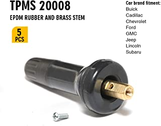 TQ Pro. TPMS 20008 Rubber Snap-in Tire Valve Stem Replacement VS 950 (5 Pack)