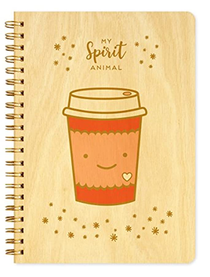 Night Owl Paper Goods Spirit Animal Journal with Real Wood Covers