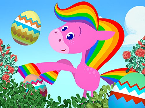 BabyFirst's Easter Special-2 - Easter Fun with VocabuLarry, Nursery Songs and More!