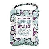 History & Heraldry Design Top Lady Tasche: Friseurin/Einkaufstasche, Strandtasche, Sporttasche, Blumenmuster/vielseitig, praktisch, personalisiert mit Name und Spruch