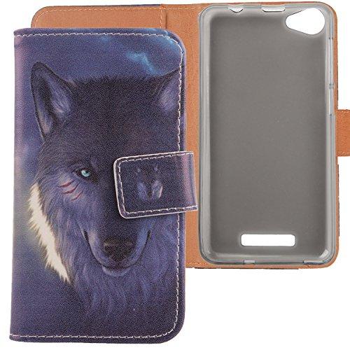 Lankashi PU Flip Leder Tasche Hülle Hülle Cover Schutz Handy Etui Skin Für Wiko Lenny 3 max 5