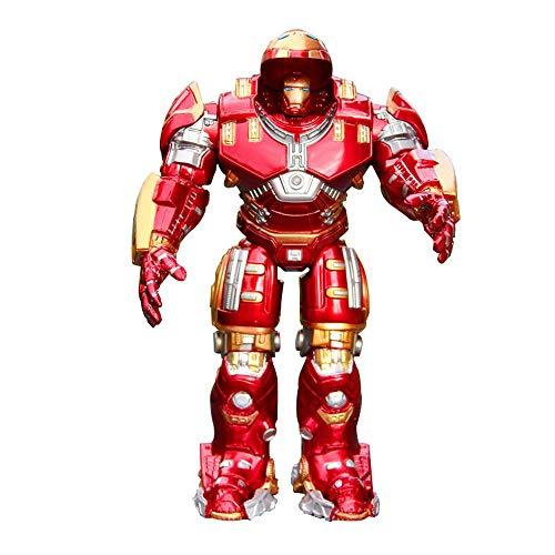 TOYEE Avengers 4 Marvel Modelo De Personaje De Acción Anti-Hulk 2.0 Decoración De Armadura De Juguete para Niños Material De PVC Alto 18 Cm Movable