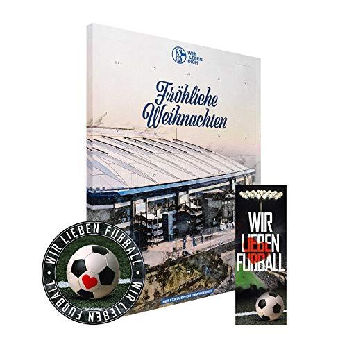 FC Schalke 04 Adventskalender XXL gefüllt inkl. Poster S04 (A+L/WIR)