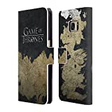 Official HBO Game of Thrones Westeros Map Key Art Leather Book Wallet Case Cover Compatible for Samsung Galaxy S7