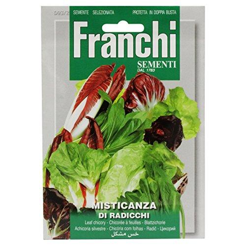Seeds of Italy Ltd Franchi Chicorée à Feuilles