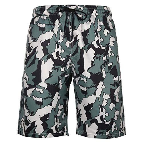 FANJUANMIN Siwmwear - Pantalones cortos de playa para...