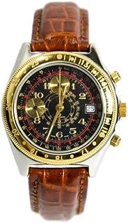 Pryngeps - Reloj manual Watch Black Chronograph CR707/BIS