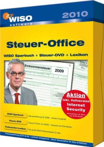 WISO Steuer-Office 2010 [import allemand]