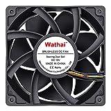 Wathai 12038 120mm x 38mm Computer PC Case Fans 5300rpm High Airflow 12V 4pin...