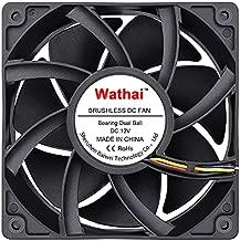 Wathai 12038 120mm x 38mm 5300rpm High Airflow 12V 4pin PWM FG DC Brushless Cooling Fan