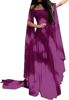 JESPER Women Retro Medieval Renaissance Cosplay Off The Shoulder Vintage Party Elegante Dress
