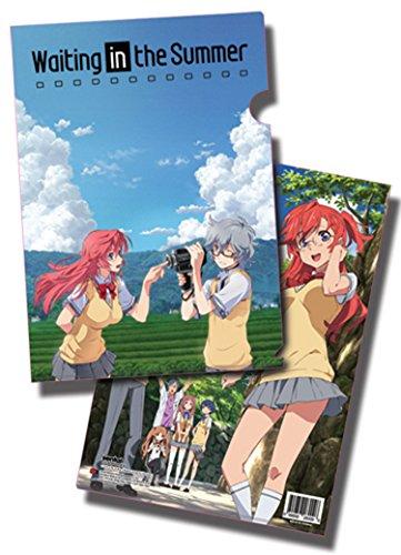 Waiting In The Summer Ichika And Kaito File Folder