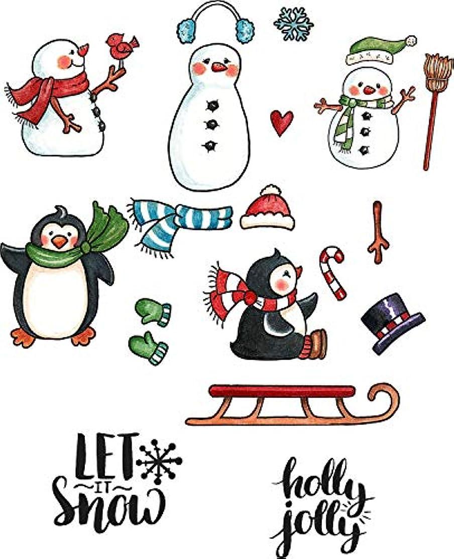 CottageCutz Snow Fun Stamp & Die Set