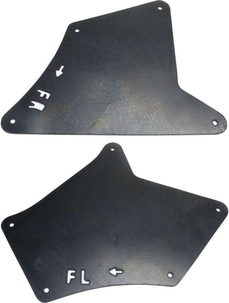 For Toyota FJ Dealing full Max 51% OFF price reduction Cruiser Splash Liner Driver Guard Fender 2007-2014