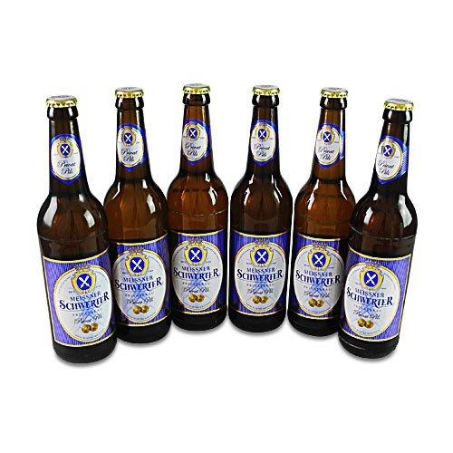 Meissner Schwerter Privat Pils (6 Flaschen à 0,5 l / 4,9% vol.)