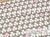 Mamasliebchen Jersey-Stoff Little Lucky Clover #Rosemary-Taupe (0,5m)