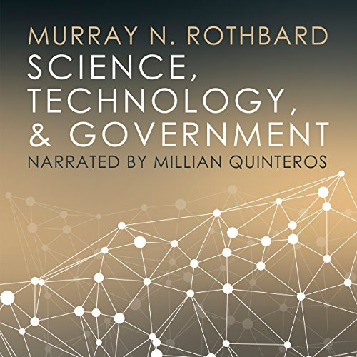 Science, Technology, and Government audiobook cover art