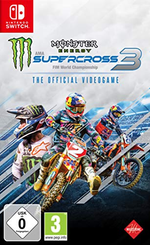 Monster Energy Supercross - The Official Videogame 3 (Nintendo Switch)