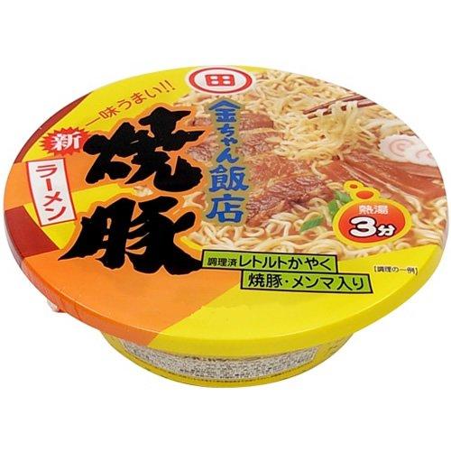 徳島製粉 金ちゃん 飯店焼豚ラーメン 156g×12個