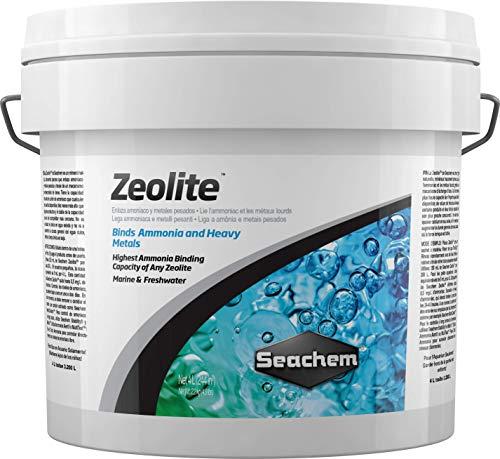 Seachem Zeolite Marine & Freshwater Binding Agent - Ammonia and Heavy Metals 4 L, Grey (1276)