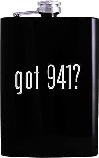 got 941? - 8oz Hip Alcohol Drinking Flask, Black