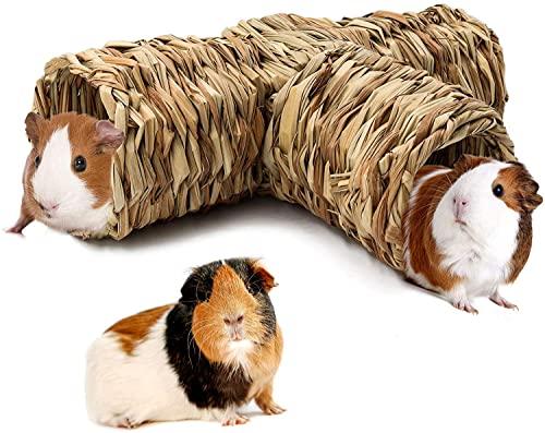 HirrWill Hamster Gras Tunnel Spielzeug...