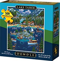 Each puzzle has a colorful story to tell Fun and entertaining items are found within the intricate details of the artwork Full color image insert with extra zip-lock baggie Re-closable collectors box with sleeve Made in America from high quality mate...