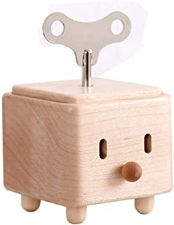 Wooden Music Box - wooden Crafts Music Box, Mini Music Box, Can Be Used As Gift, Modern Design KKGGS