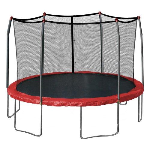 Skywalker Trampolines 15-Feet Round Trampoline, Red