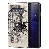 Edwin Henry Landseer Para Samsung Galaxy S10 Carcasa/del teléfono celular de arte del teléfono celular de arte/Impresión Giclee en la cubierta del móvil(Due Giovani camini spazza su Un Cavallo)