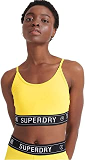 Superdry Training Logo Bra Sujetador Deportivo para Mujer
