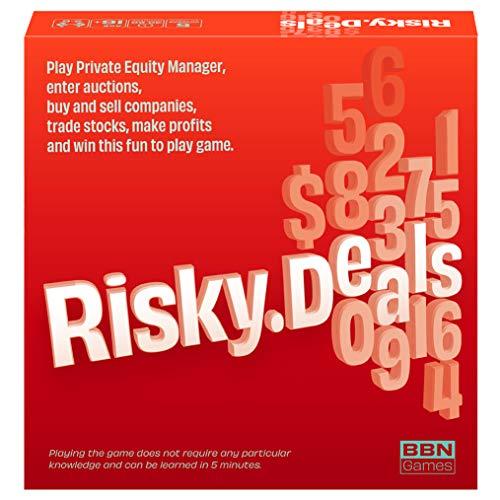 Neu - 2020 Risky Deals - The Stock Market Game Ein einzigartiger Klassiker Art von Spiel für Erwachsene und Familienabend von BBN Games Risk, Strategie, Adrenalin und Spaß