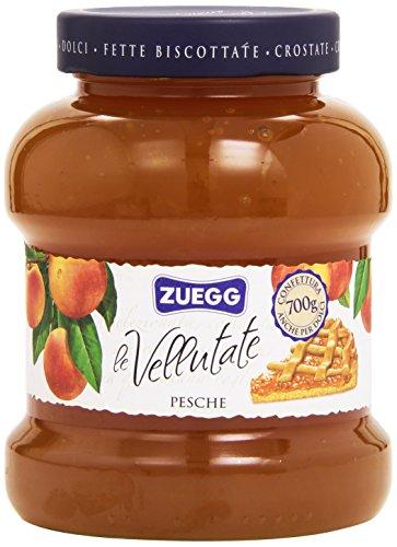 6x Zuegg Pesche Marmelade Pfirsiche Konfitüre Brotaufstriche Italien 700 g