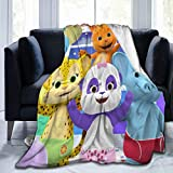VARUN Word Party Wallpaper Blanket Super Soft Plush Throw Blankets Lightweight Warm Blankets for Adult Children Family Soofa Couch Bedroom Blankets 50'x40'