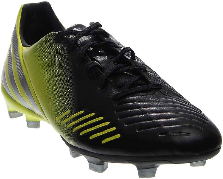 Adidas Men's Predator Absolado Lz TRX Fg Cleats, Black1 Metsilver Lablime