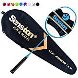 Senston N80 Graphite Single High-Grade Badminton Racquet,Professional Carbon...