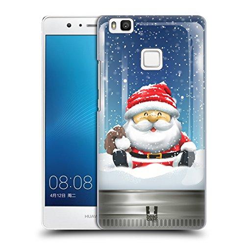 Head Case Designs Babbo Natale Natale in Barattolo Cover Dura per Parte Posteriore e Sfondo di Design Abbinato Compatibile con Huawei P9 Lite / G9 Lite