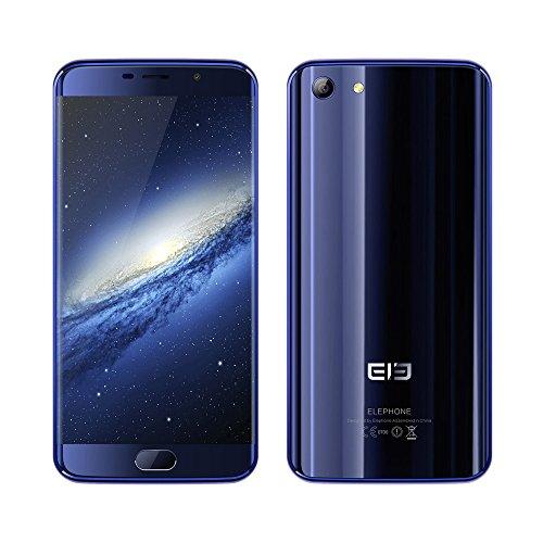 elephone ELE S7 4G LTE Smartphone 5.5 Zoll Randloses FHD-Display Android 6.0 Helio X20 Deca Core 4GB RAM+64GB ROM 13.0MP + 5.0MP Dual-Kamera 3000mAh Metallrahmen,Ohne Vertrag