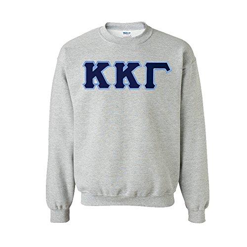 Kappa Kappa Gamma Lettered Crewneck Medium Sports Grey