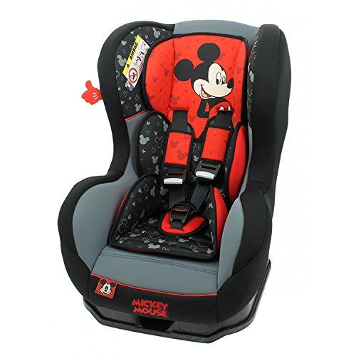 mycarsit Autositz Disney, Gruppe 0+/1(von 0bis 18kg), Motiv Mickey