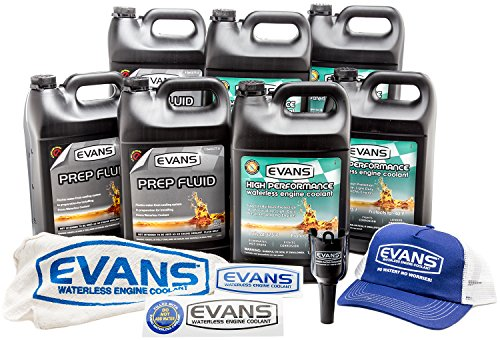 EVANS Waterless Coolant Small Block Chevy Engine Full Conversion Bundle