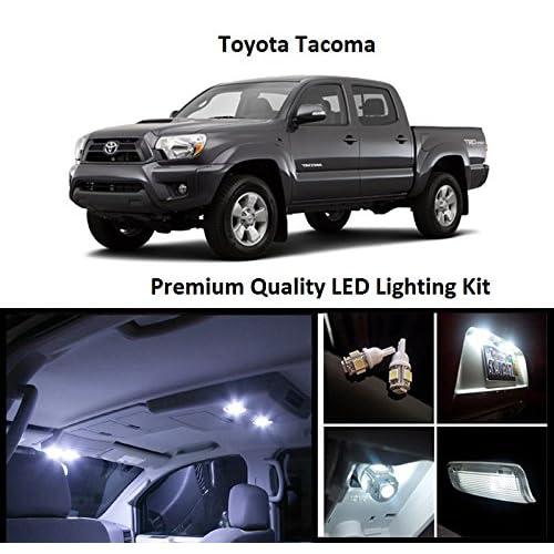 EliteTech 2005 - 2016 Toyota Tacoma Premium LED Package (White) - Interior + License
