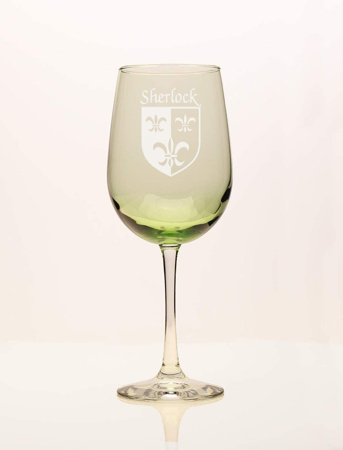 Sherlock Irish Coat of Online limited Max 54% OFF product Green Wine Arms Glass