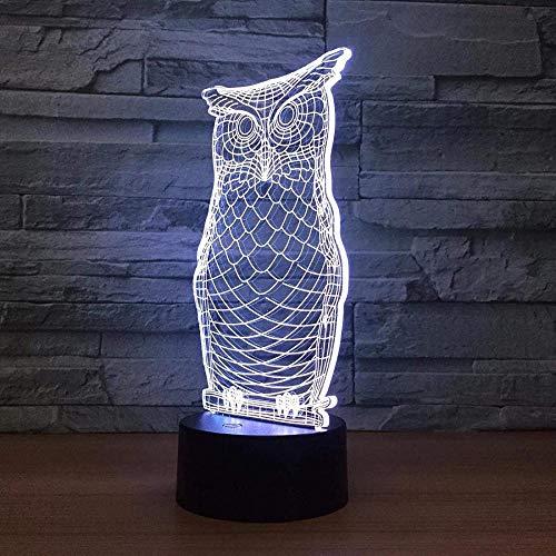 Okada juego personaje de anime de dibujos animados luz nocturna 3D LED luz mágica conversión de 7 colores iluminación USB decoración del hogar gadget regalo único para adolescentes