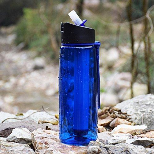 oofay Draagbare waterfilter Emergency Persoonlijke Camping Met Interne Koolstof En Ultra Filter Assembly 0.01 Micron Absolute Holle Fiber Membraan