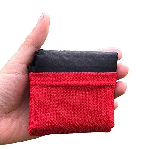 Pocket Blanket Ultra-leichte kompakte wasserdichte Outdoor-Decke 3Size! (L)