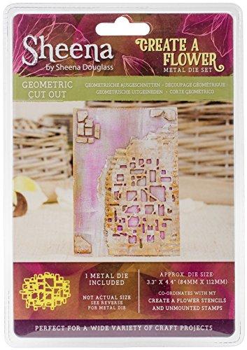 Sheena Douglass schaffen eine Blume sterben, Metall, Silber, 13.8 x 19.4 x 0.5 cm
